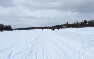 Winter-skating